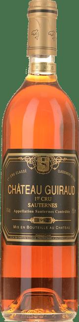 CHATEAU GUIRAUD 1er cru classe, Sauternes 1992