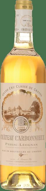 CHATEAU CARBONNIEUX Blanc Cru classe, Graves 2005