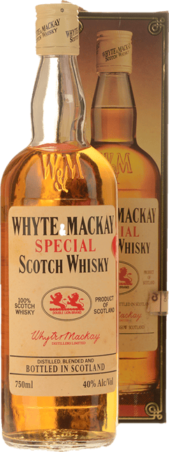 WHYTE AND MACKAY Special 40% ABV, Scotland NV