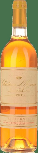 CHATEAU D'YQUEM 1er cru superieur, Sauternes 1993