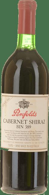 PENFOLDS Bin 389 Cabernet Shiraz, South Australia 1990