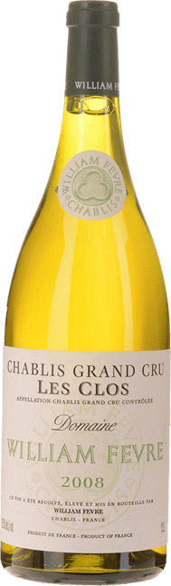 WILLIAM FEVRE Les Clos, Chablis 2008