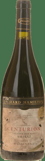 RICHARD HAMILTON Centurion Old Vine Shiraz, McLaren Vale 2002