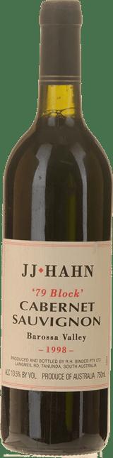 JJ HAHN 79 Block Cabernet, Barossa Valley 1998