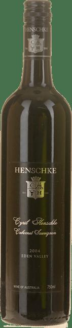 HENSCHKE Cyril Henschke Cabernet Sauvignon, Eden Valley 2004