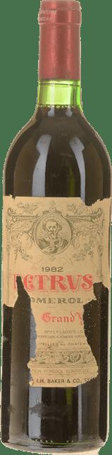 CHATEAU PETRUS Cru exceptionnel, Pomerol 1982