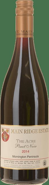 MAIN RIDGE ESTATE The Acre Pinot Noir, Mornington Peninsula 2014