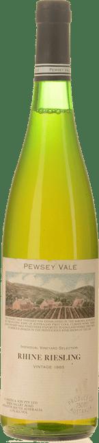 PEWSEY VALE Individual Vineyard Selection Rhine Riesling, Barossa 1985