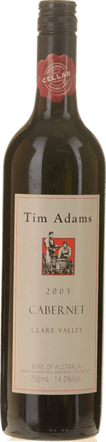 TIM ADAMS Cabernet, Clare Valley 2003