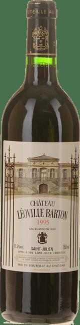 CHATEAU LEOVILLE-BARTON 2me cru classe, St-Julien 1995