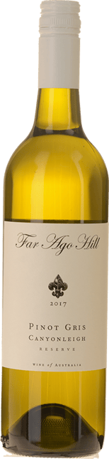 FAR AGO HILL Canyonleigh Reserve Pinot Gris, Southern Highlands 2017