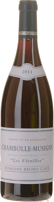 DOMAINE BRUNO CLAIR Les Veroilles, Chambolle-Musigny 2011