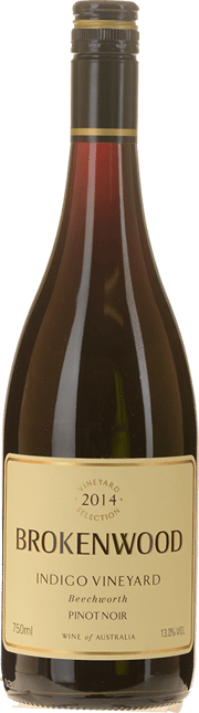 BROKENWOOD WINES Indigo Vineyard Pinot Noir, Beechworth 2014