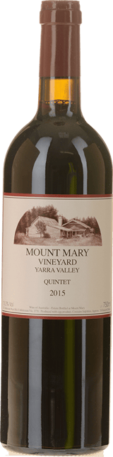 MOUNT MARY Quintet Cabernet Blend, Yarra Valley 2015