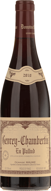 DOMAINE MAUME En Pallud, Gevrey-Chambertin 2010
