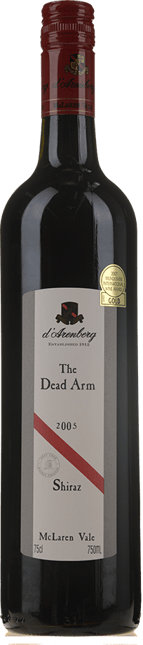 D'ARENBERG WINES The Dead Arm Shiraz, McLaren Vale 2005
