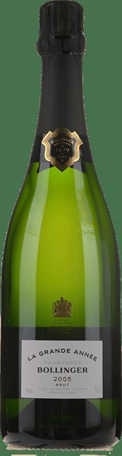 BOLLINGER Grand Annee Brut, Champagne 2005