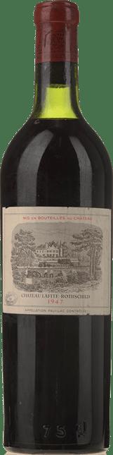 CHATEAU LAFITE-ROTHSCHILD 1er cru classe, Pauillac 1947