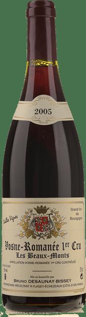 BRUNO DESAUNAY-BISSEY Les Beaumonts Vieilles Vignes 1er cru, Vosne-Romanee 2005