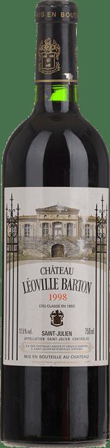 CHATEAU LEOVILLE-BARTON 2me cru classe, St-Julien 1998