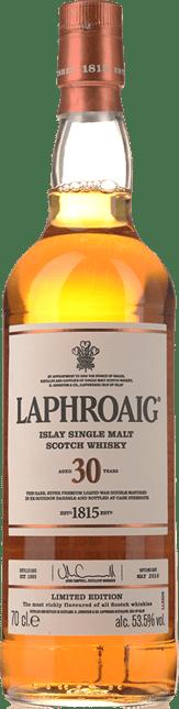 LAPHROAIG 30 Year Old 53.5% ABV, Islay NV
