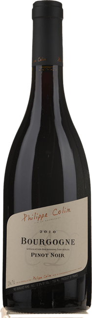 PHILIPPE COLIN, Bourgogne Rouge 2010