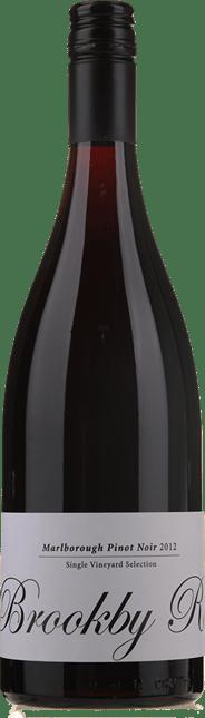 GIESEN ESTATE WINES Single Vineyard Selection Brookby Road Pinot Noir, Marlborough 2012