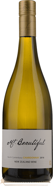 MT. BEAUTIFUL Chardonnay, Canterbury 2016