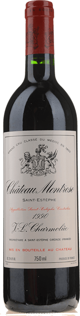 CHATEAU MONTROSE 2me cru classe, St-Estephe 1990