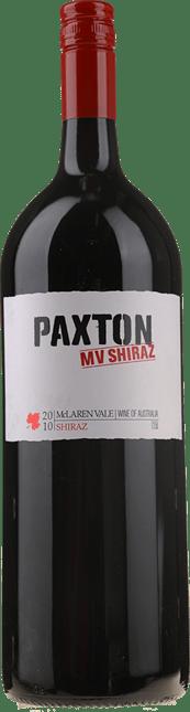PAXTON WINES MV Shiraz, McLaren Vale 2010