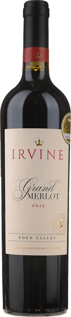 IRVINE Grand Merlot, Eden Valley 2012