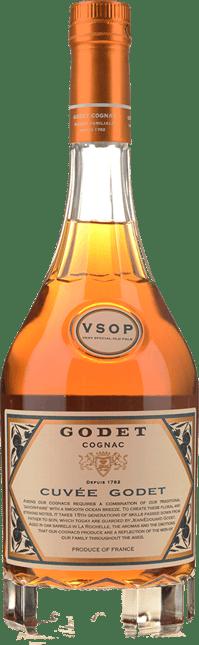 GODET FRERES V.S.O.P 40% ABV Fine Champagne, Cognac NV