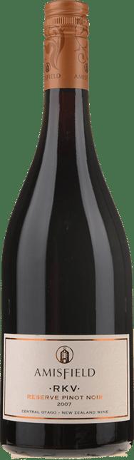AMISFIELD RKV Reserve Pinot Noir, Central Otago 2007