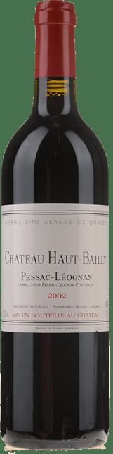 CHATEAU HAUT-BAILLY Grand cru classe, Pessac-Leognan 2002