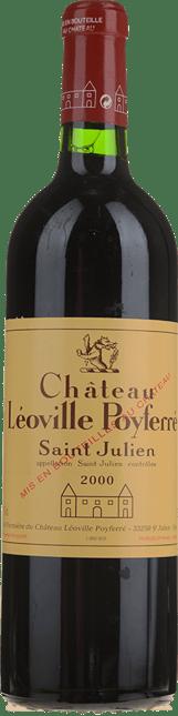 CHATEAU LEOVILLE-POYFERRE 2me cru classe, St-Julien 2000