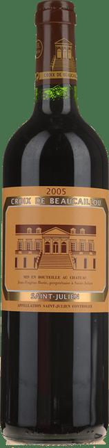 LA CROIX DE BEAUCAILLOU Second wine of Chateau Ducru-Beaucaillou, St-Julien 2005