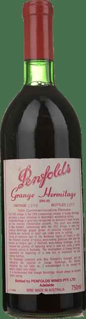 PENFOLDS Bin 95 Grange Shiraz, South Australia 1976