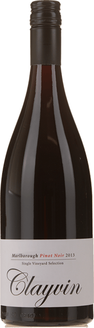 GIESEN ESTATE WINES Single Vineyard Selection Clayvin Pinot Noir, Marlborough 2013