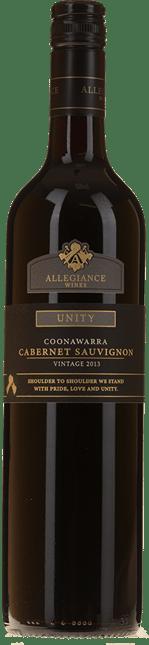 ALLEGIANCE WINES Unity Cabernet Sauvignon, Coonawarra 2013