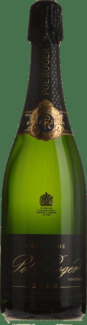 POL ROGER Brut, Champagne 2008