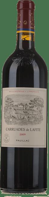 CARRUADES DE LAFITE Second wine of Chateau Lafite, Pauillac 2009