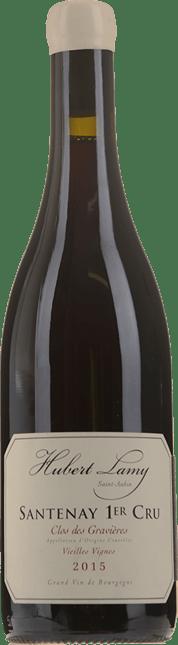 HUBERT LAMY Santenay 1er Cru Clos des Gravieres Vieilles Vignes 2015