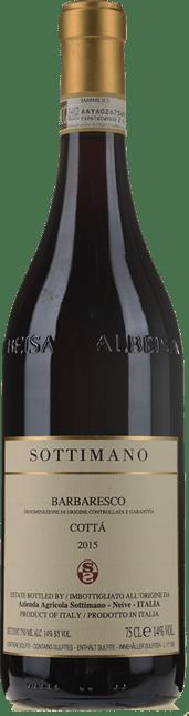 SOTTIMANO Cotta, Barbaresco DOCG 2015