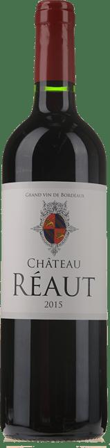 CHATEAU REAUT, Côtes de Bordeaux 2015