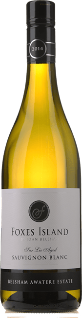 FOXES ISLAND Belsham Awatere Estate Sauvignon Blanc, Marlborough 2014