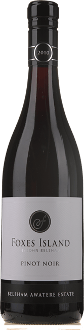 FOXES ISLAND Belsham Awatere Estate Pinot Noir, Marlborough 2010