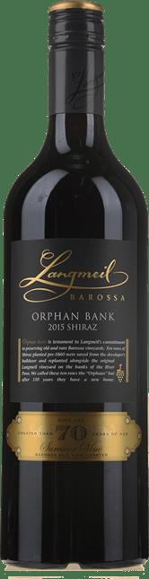 LANGMEIL WINERY Orphan Bank Shiraz, Barossa Valley 2015