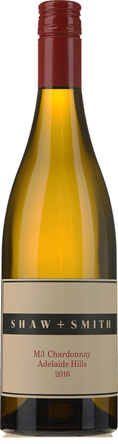 SHAW & SMITH M3 Vineyard Chardonnay, Adelaide Hills 2016