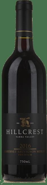 HILLCREST VINEYARDS Premium Cabernet Merlot, Yarra Valley 2016