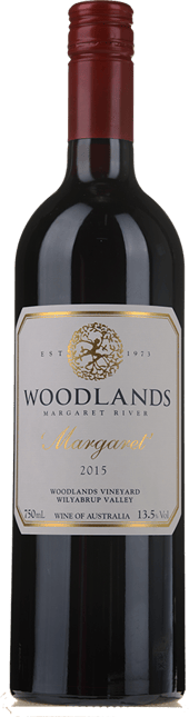 WOODLANDS Margaret Cabernet Merlot, Margaret River 2015